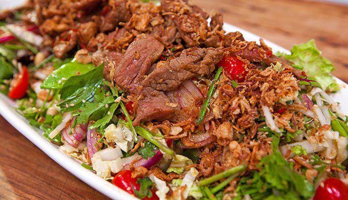 Thai Beef Salad - Good Chef Bad Chef
