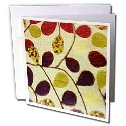 Florene Decorative - Leafy Autumn - Greeting Cards-12 Greeting Cards with envelopes by 3dRose. $15.95. Leafy Autumn Greeting Card is measuring 5.5w x 5.5h. Greeting Cards are sold in sets of 6 or 12. Give these fun cards to your friends and family as gift cards, thank you notes, invitations or for any other occasion. Greeting Cards are blank inside and come with white envelopes.