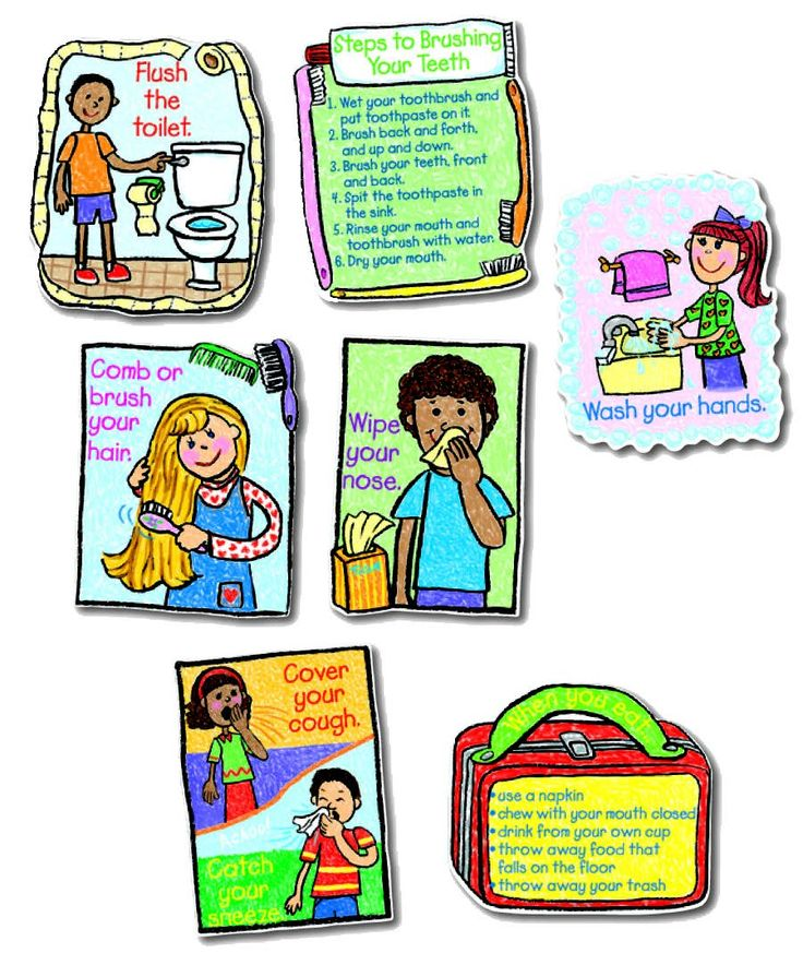 Images for personal hygiene products for kids bulletin