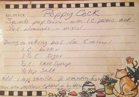 My mom's Poppycock recipe. A Christmas classic!