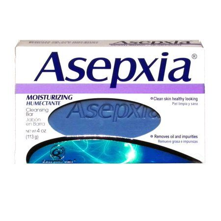 Asepxia Soap Moisturizing (purple) 3.53 oz - Jabon Humectante Morado (Pack of 12)
