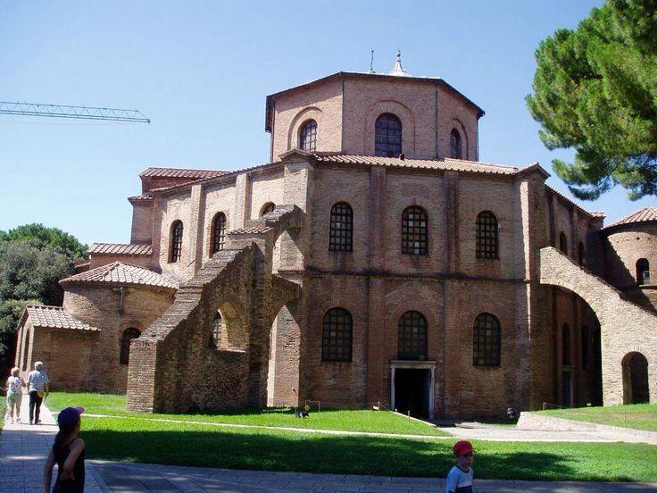 Basilica di San Vitale, 532-547. Ravenna
