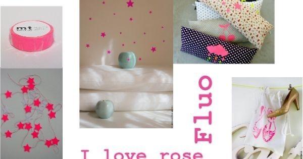 I love rose fluo #love #rose