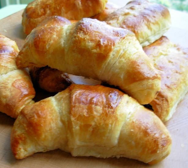 Photos Of Traditional Buttery French Croissants For Lazy Bistro Breakfasts Recipe - Food.com - 327458