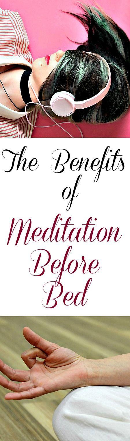 The Benefits of Meditation Before Bed  #meditation #meditating
