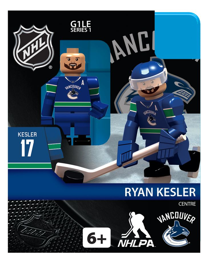 Hot off the assembly line. OYO NHL Canucks minifigures