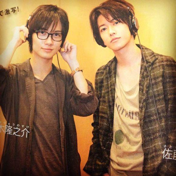 Sato Takeru and Kamiki Ryunosuke