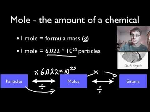 This is a nice introduction to mole conversions, a central part of any chemistry class.  We are always measuring in grams and using that to find the number of molecules in the sample.  #mole conversions  #mole  #chemistry