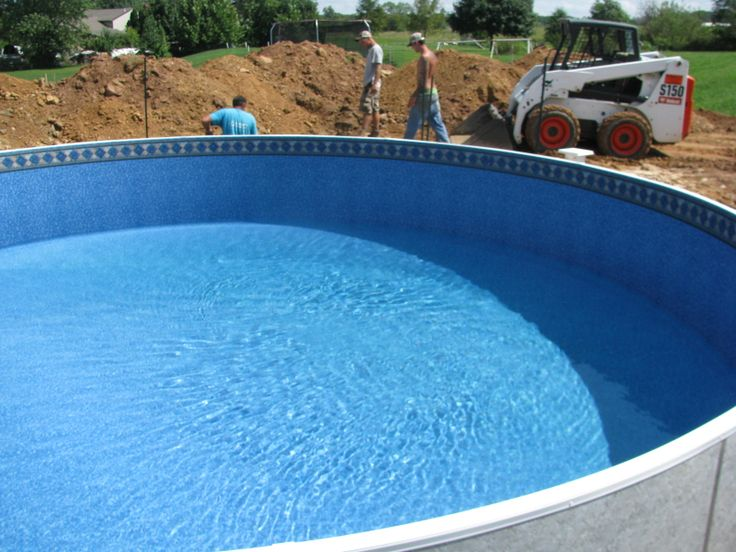 Back Filling The Radiant Pool Outdoor Decor Tub Decor