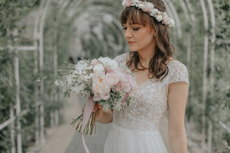 INNA Studio_flower crown / wedding / ślubny wianek / fot. fot. Tears and Tales Photography