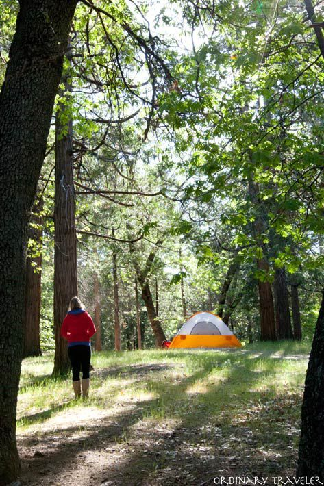 California Camping - Five amazing places to camp!