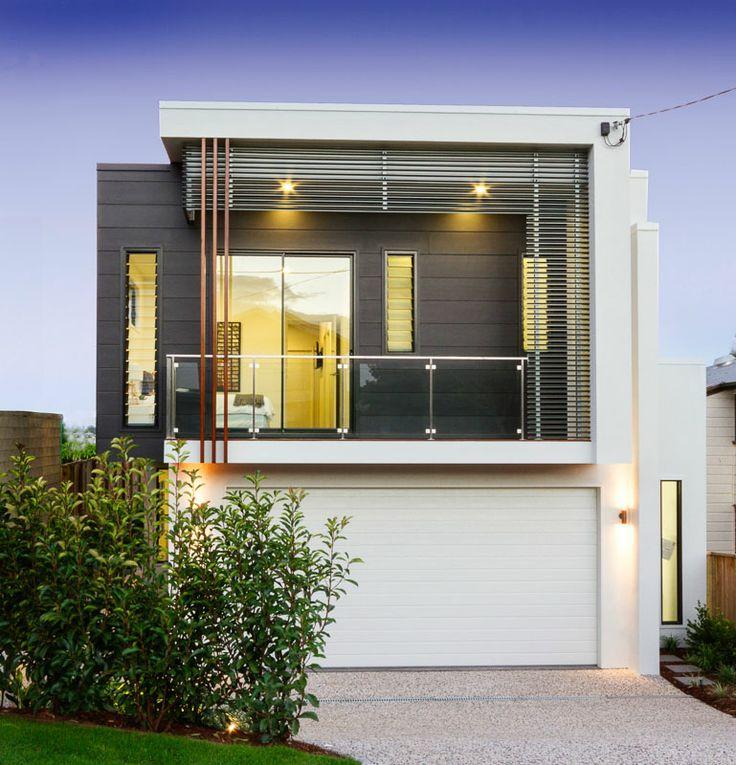 New kalka modern façade - Hamilton. Kedron kalka display home.