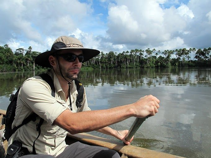 Aleks from Latin American for Less is in Madre de Dios #Peru.