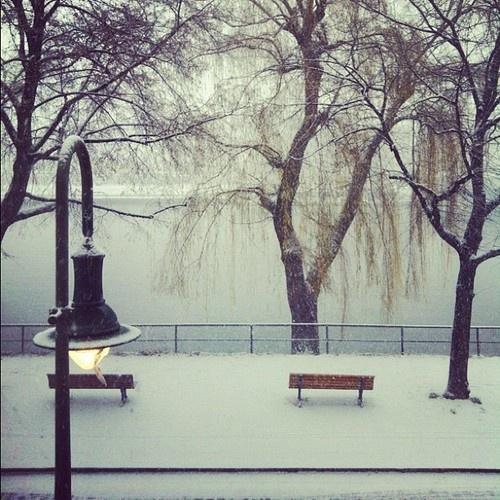 Snow morning in #Berlin #latergram #Nikolausgram (at Restless Space)