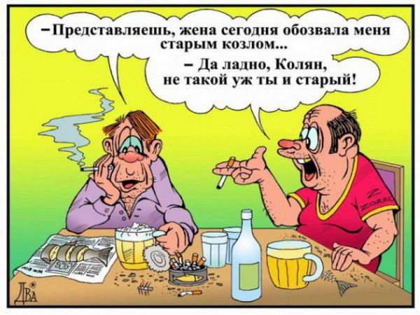 <h4>Смешные карикатуры</h4>