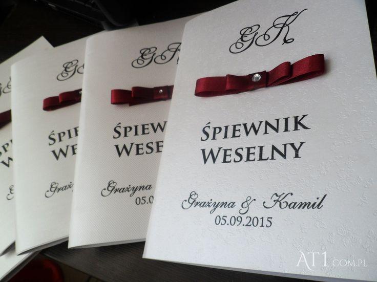 Śpiewnik weselny wydruk allegro  Okładka z nadrukiem Zamów www.At1.com.pl, lub przez wiadomość na fb.com/At1.com.plmotorowex kom. 889 668 813: