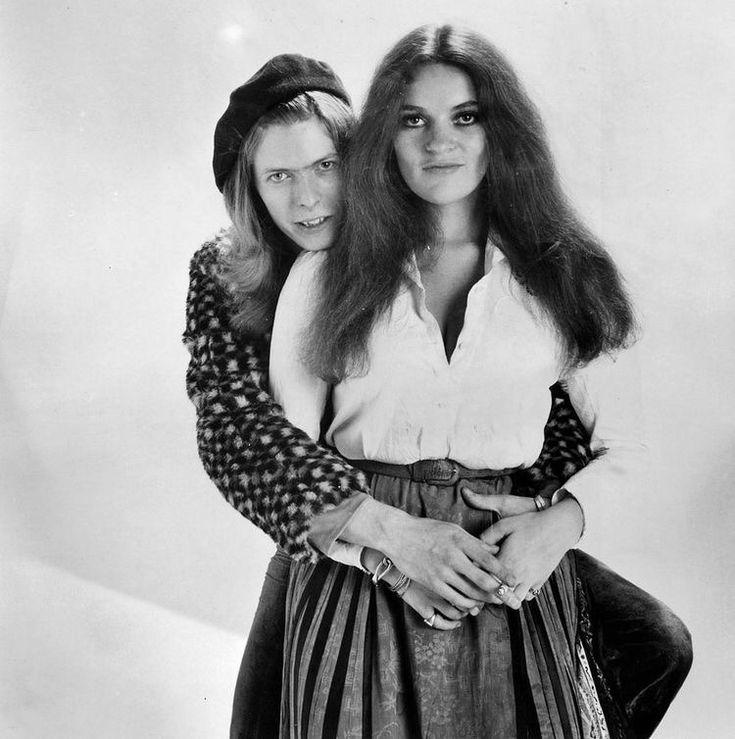 vezzipuss.tumblr.com — David Bowie & Dana Gillespie, Circa 71