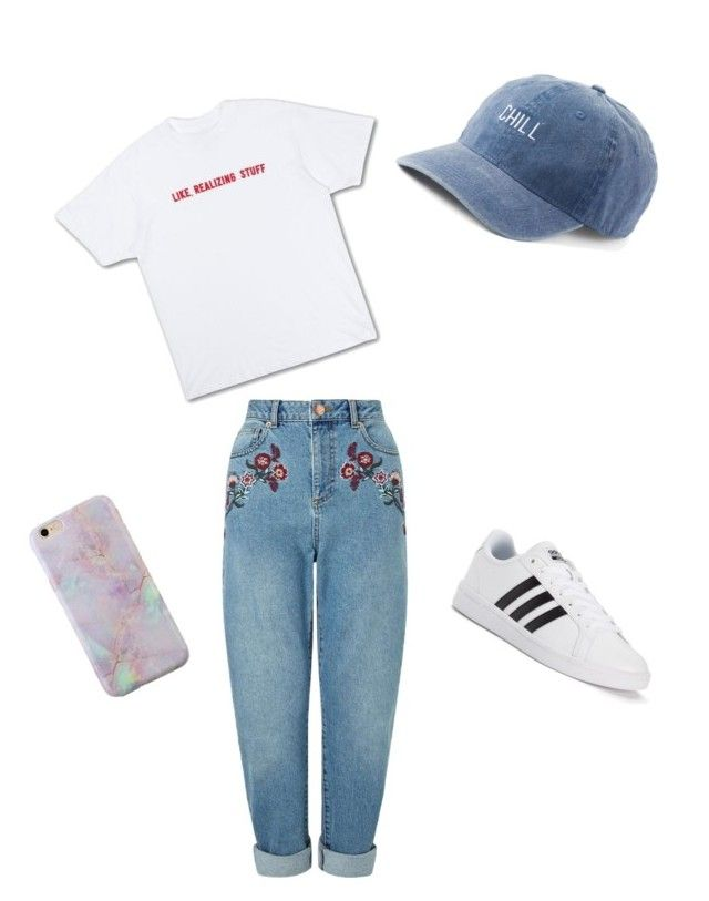 """""""Untitled #1"""" by parsonrylie ❤ liked on Polyvore featuring Miss Selfridge, adidas and SO"""