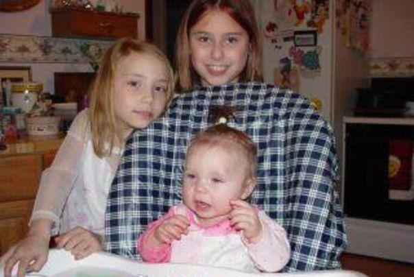 baby Whitney, Alaina and  Hailie