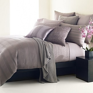 sheer tints in matte and shine u2013 an everyday bedding basic to dress up or down the essentials peony duvet cover by donna karan is crafted of luxuriously