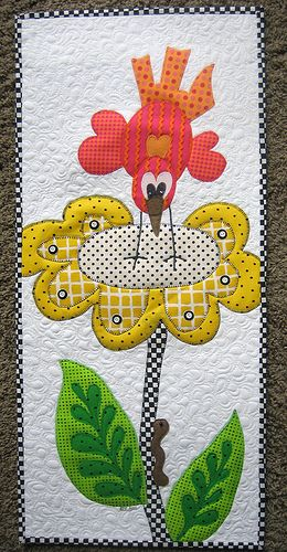 So cute!   like the background #quilting too