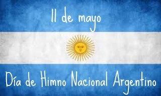 11 de mayo dia del himno nacional argentino!!!
