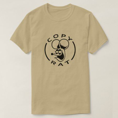 Rat with text Copy Rat T-Shirt - click to get yours right now!