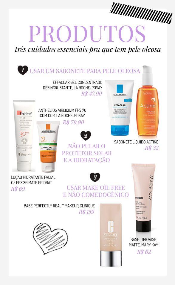 Dicas de produtos para lidar com a acne adulta.