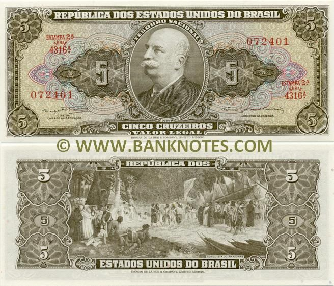 Brazil 5 Cruzeiros (1964)