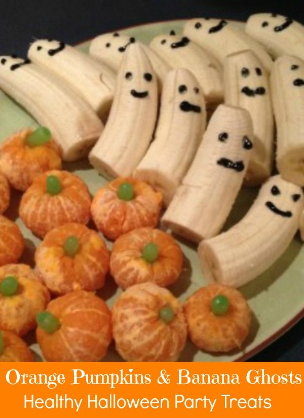 Searching for healthier Halloween party treat ideas? Kids are bombarded with candy at this time of year so why not serve a treat that is fun, but not sugary junk food. Great idea for school or birthday parties.
