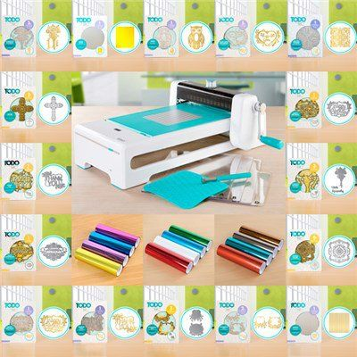 TODO Sentiments Craftinator Collection - Includes 44 Accessory Pieces and Free TODO Machine (150022)   Create and Craft