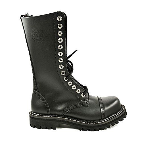 Angry Itch - 14-Loch Gothic Punk Army Ranger Armee Leder Stiefel mit RV & Stahlkappe 36-48 - Made in EU! - http://on-line-kaufen.de/angry-itch/angry-itch-14-loch-gothic-punk-army-ranger-armee-rv-2