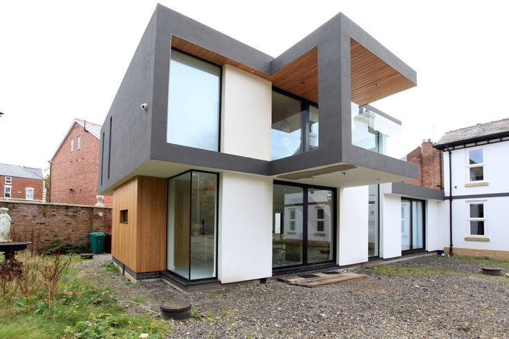 Manchester Rd: Large extension and existing house remodeling