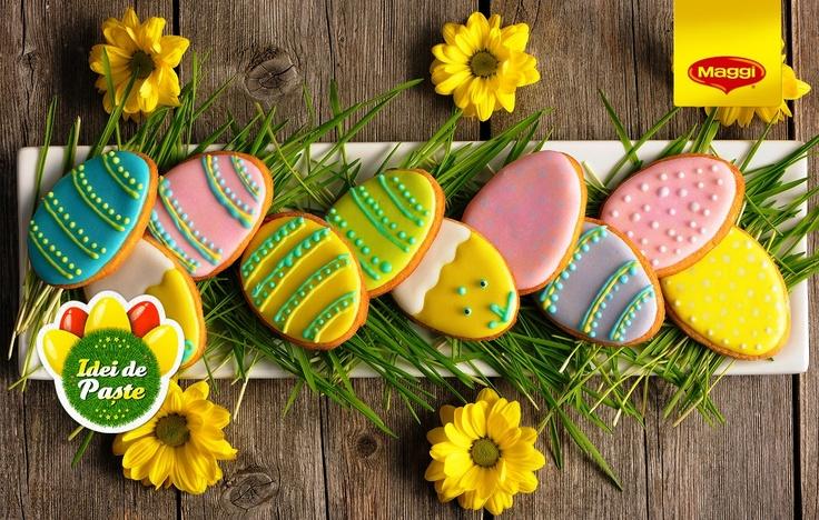 Sweet glaze for your biscuits // O glazura delicioasa pentru orice tip de biscuite -> https://www.facebook.com/MAGGI.Romania