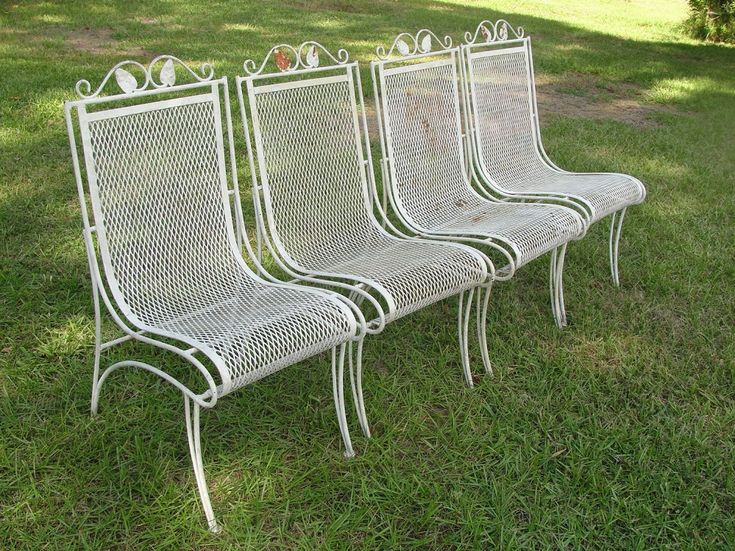 Popular Vintage Wrought Iron Patio Furniture | Devd Rustic Vintage
