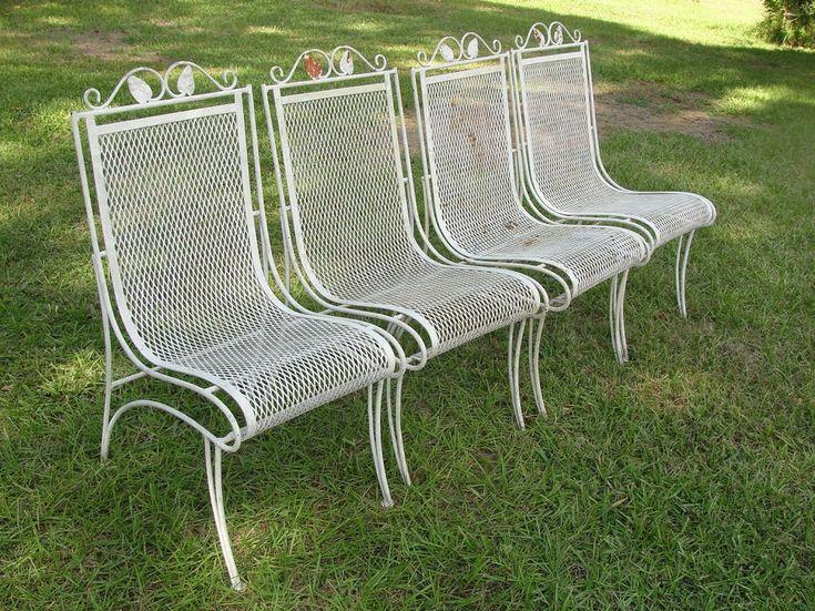 popular vintage wrought iron patio furniture devd rustic vintage