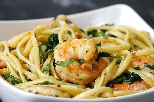 This One-Pot Lemon Garlic Shrimp Pasta Will Make Your Dinner Dreams Come True