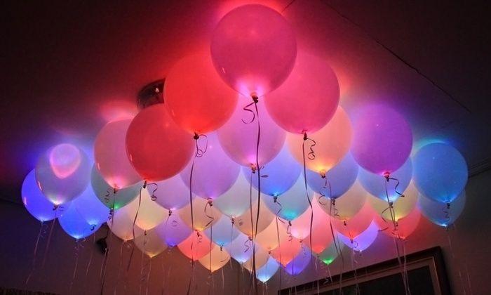 Dynergy: 6, 12 oder 18 Light-up Magic Glow LED-Ballons inkl. Versand (bis zu 63% sparen*)