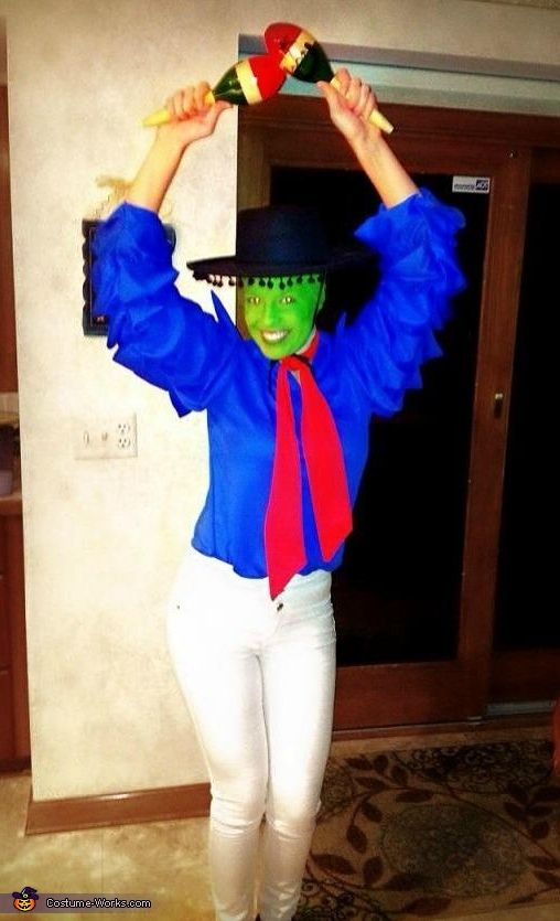 Cuban Pete The Mask Costume   Dressing, The mask and Homemade