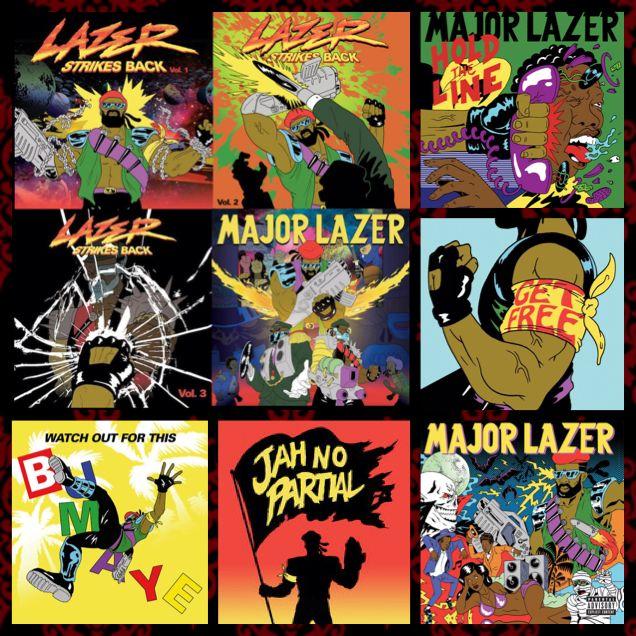 Major Lazer LLC. Records