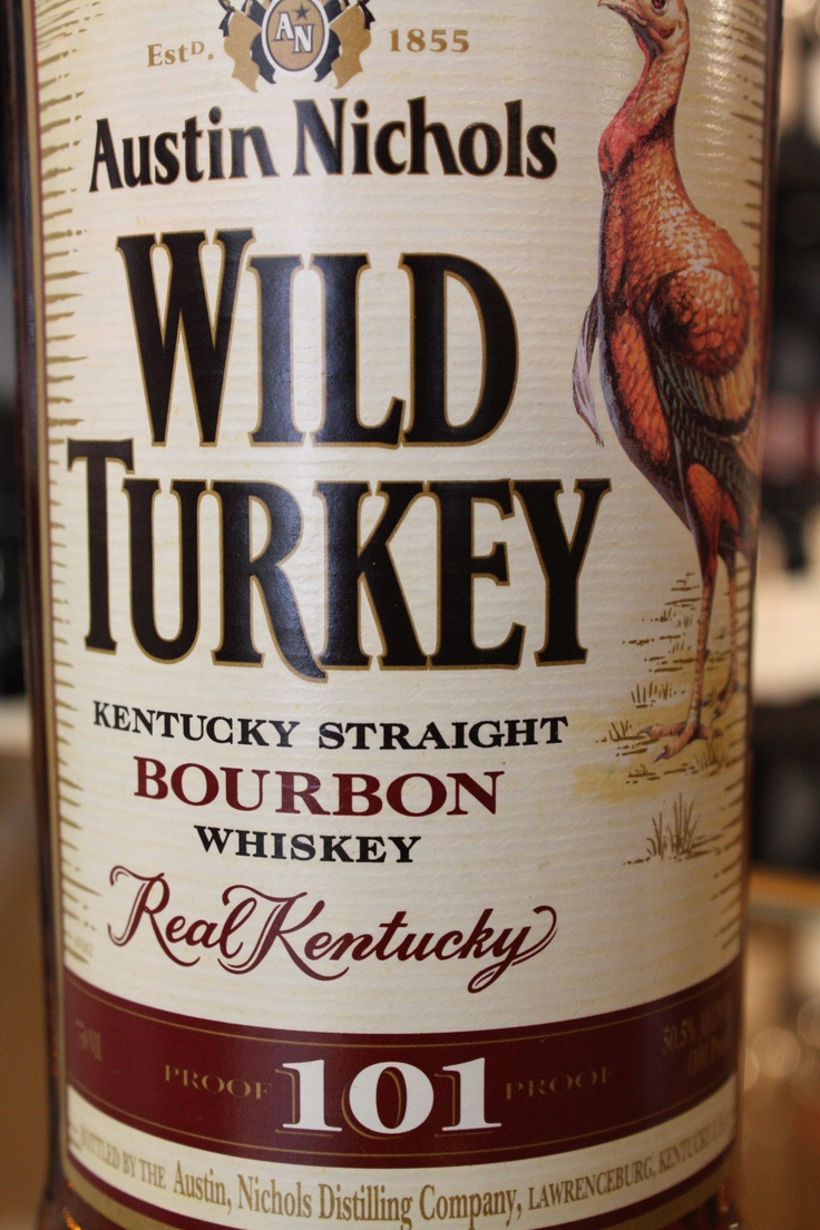 Wild Turkey 101. This stuff kicks sand in Jack Daniel's face at the beach. Bourbon for those of us who like it to taste a little stronger and a little less like sweeties. Excellent.