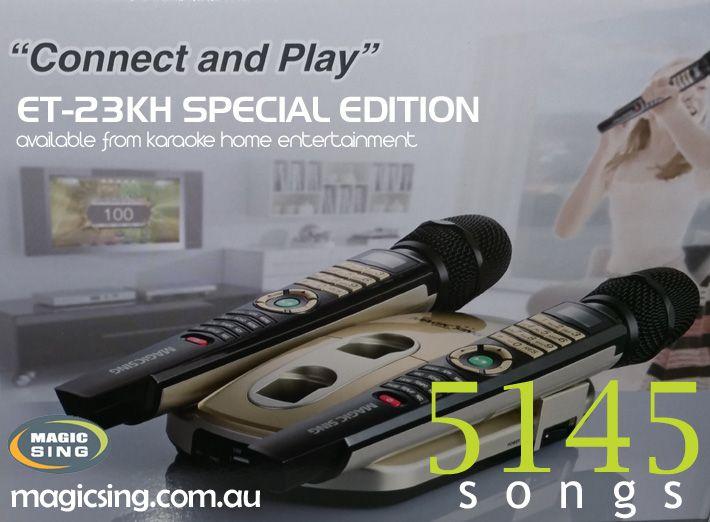 English Special Edition Magic Sing Karaoke System ET-23KH