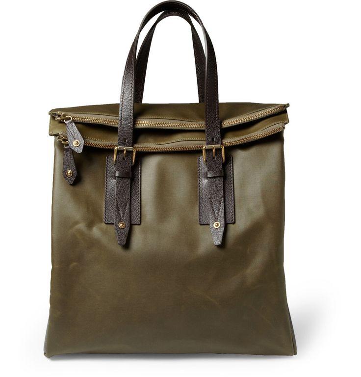 Belstaff Men s Dorchester Waxed Cotton Tote Bag 29 1