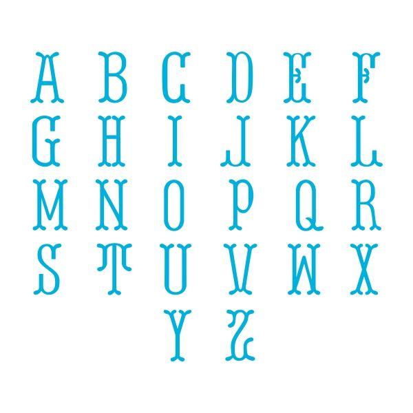148 best decorative cuttable svg fonts images on pinterest