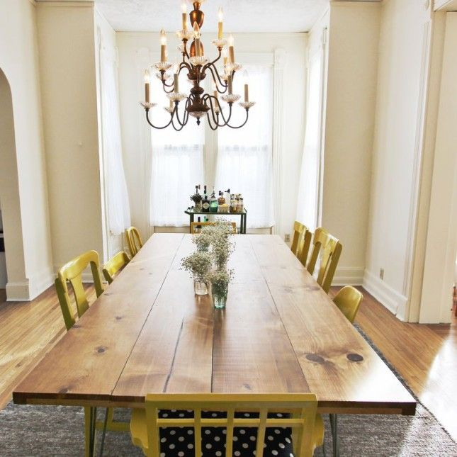 28+ [ diy dining room table ] | how to make a diy farmhouse dining