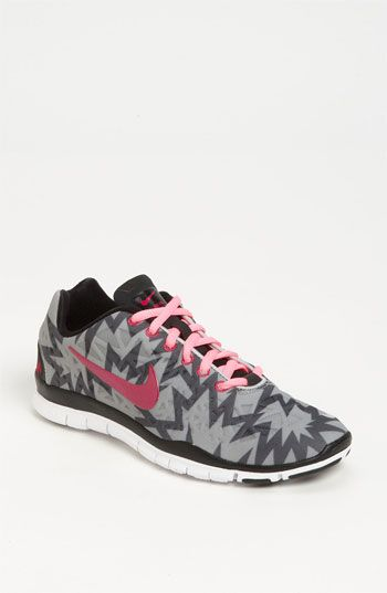Nike 'Free TR Fit 3 Print' Training Shoe (Women) available at Nordstrom...my next shoes, but the purple ones!