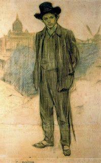 Picasso in Paris 1900-1907 by  Ramon  Casas
