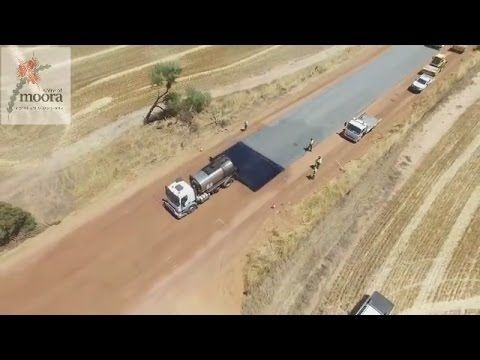WA Moora Shire road building video racks up over 14 million Facebook views https://www.youtube.com/watch?v=pSdFGcT1kRc&feature=youtu.be