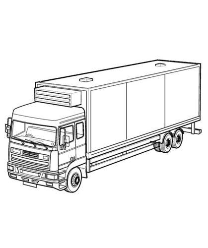 Dibujos De Trailers Para Colorear Imagenes De Camiones Para Pintar Actualizado Blogicars Libro De Colores Imagenes Camiones Bosquejo Del Diseno Del Coche