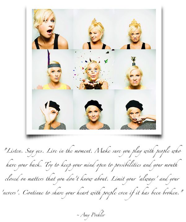 : Quotes Inspiration, Truth, Mouth, Amy Poehler, Play, Things, Inspire, People